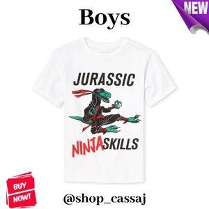 Boys' Jurassic Ninja Graphic T-Shirt